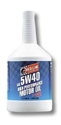 Red Line 5W40 Synthetic Motor Oil - Quart