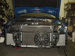 Evolution Racewerks Side-Mount Intercoolers, ER SMIC, S4 Intercooler, S4 FMIC, ER Intercoolers, B5 S4 SMIC
