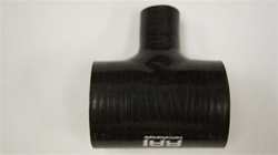 "Straight 2.375"" Coupler with 1"" T-fitting"